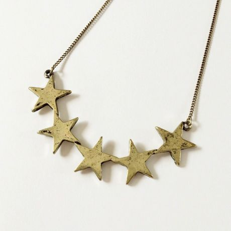 5 stars necklace AG