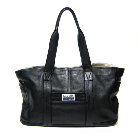 hasram. TOTE BAG HR-L1002(Black) 【受注生産】