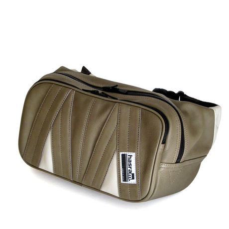 hasram. WAIST BAG HR-L1006 (Gray) 【受注生産】