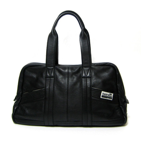 hasram. BOSTON BAG HR-L1001(Black) 【受注生産】