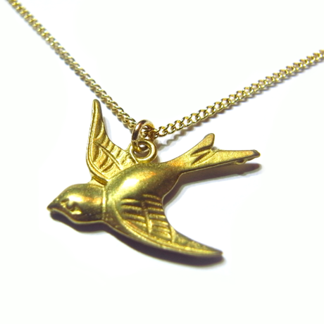 swallow necklace A