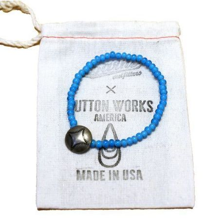 【BARNS×BUTTON WORKS】 ビーズブレスレット MADE IN USA  のコピー