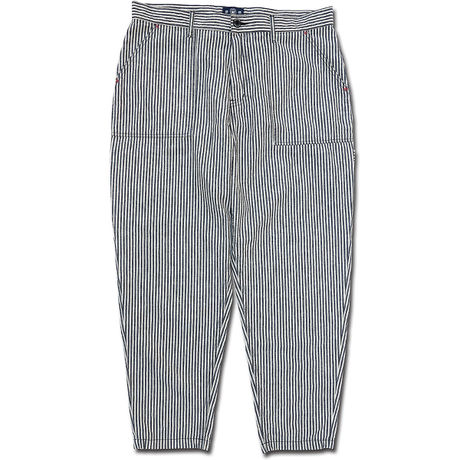 COTTONxLINEN HICKORY WIDE PAINTER PANTS