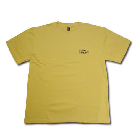 MAD HARDEE DAY OFF T-SHIRT MUSTARD