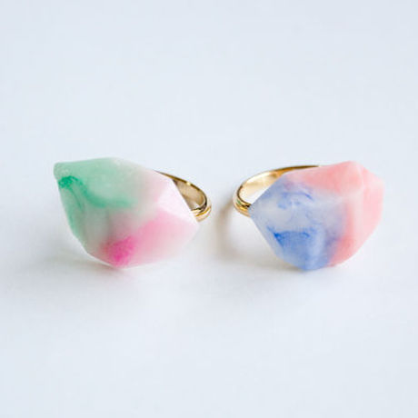 Marble Stone Ring S