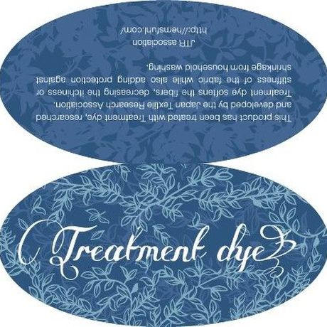 【Treatment dye】 Introduction Sticker