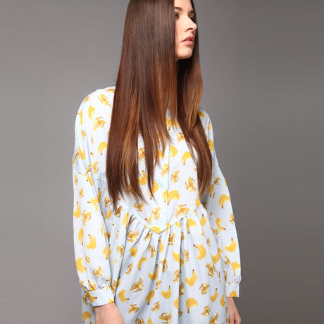 Banana printed dress HD7202
