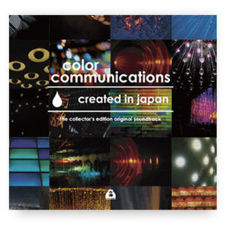 """V.A / color communications """"created in japan"""" the collector's edition original soundtrack / CD"""