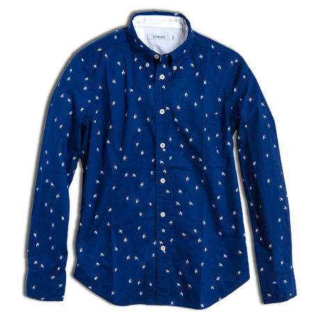 SWARROW TRIP -SHIRT- NAVY (MAN)