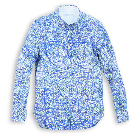 CATE -SHIRT- BLUE (MAN)