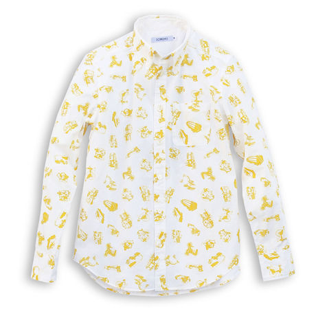 KURUMA -SHIRT- YELLOW (MAN)
