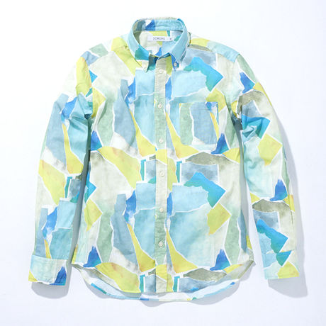 Water Color -SHIRT- GREEN (MAN)