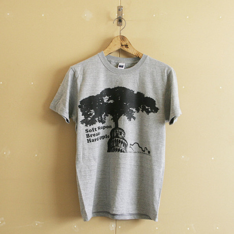 ■Soft Weapon Breaks Hard Apple Tshirt