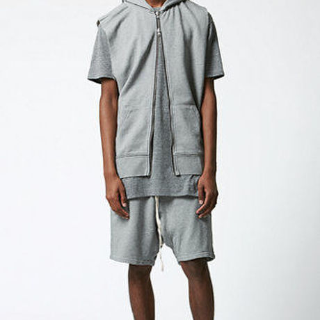 FOG - Fear Of God Sleeveless Zip Up Hoodie