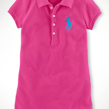 Ralph Lauren Big Pony Dress (Girls)