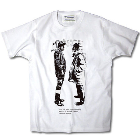 MODSvsROCKERS TEE【WHITE-A】