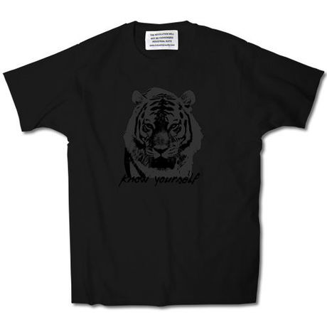 KNOW YOURSELF TEE【BLACK】