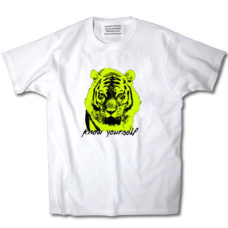 KNOW YOURSELF TEE【WHITE】