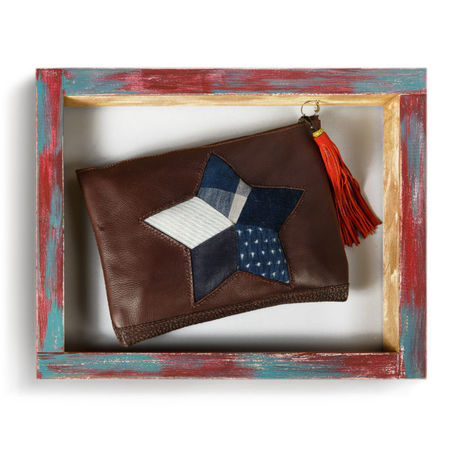 PUYA / Indigo Star Clutch Bag