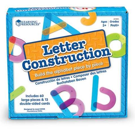 Learning Resources Letter Construction Activity Set 文字を作ろう! アクティビティ セット