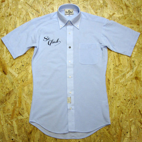 So Glad Dry BD S/S Shirt OX Blue