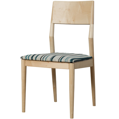 FACILE DINING CHAIR STRIPE (MAPLE)