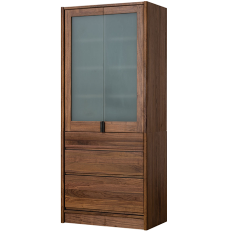 FACILE CUPBOARD 80 (WALNUT)