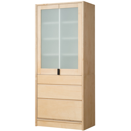 FACILE CUPBOARD 80 (MAPLE)