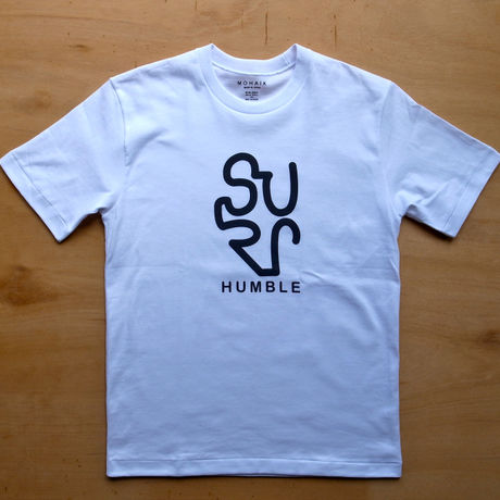 SURF HUMBLE Tシャツ WHITE