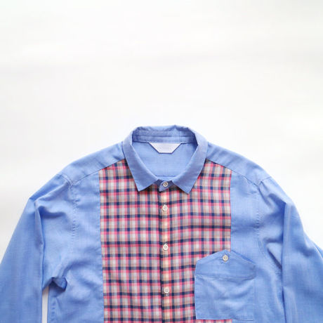 gingham shirt _MAN