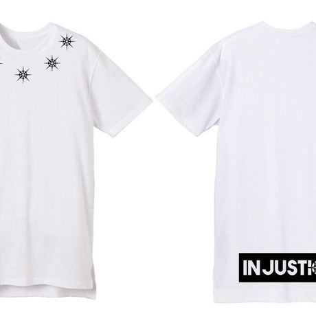 IN JUSTICE  Long length S/S Tee