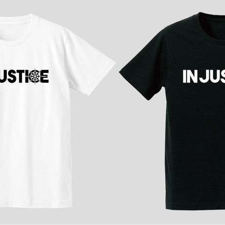 INJUSTICE BASIC LOGO S/STee
