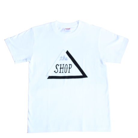 THE SHOP TEE(WHT)