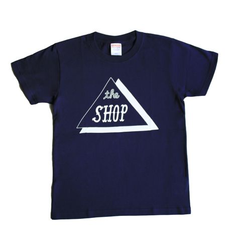 THE SHOP TEE(NAVY)