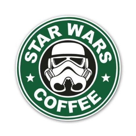Star Wars Starbucks Coffee 防水ステッカー