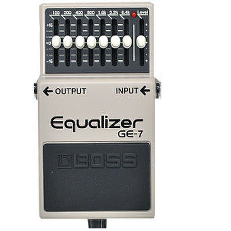 【Modify】Hi-Fi mod / BOSS Equalizer GE-7