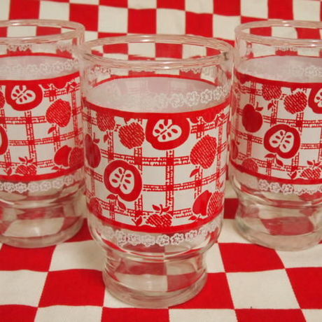 Anchor Hocking Red Apple Tumbler (S)