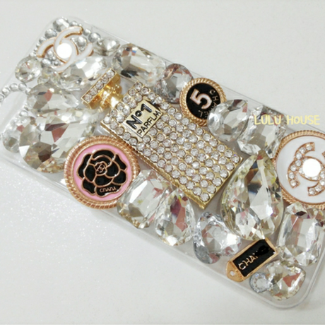 Crystal Perfume Hard Phone Case