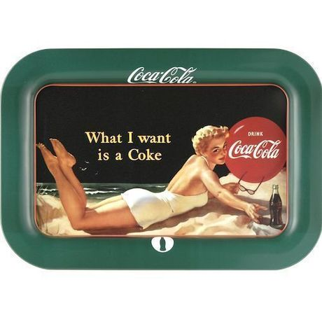 Coca-Cola TRAY/What I Want