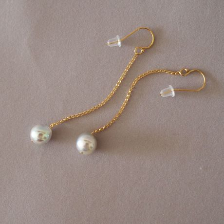 AKOYA Pearls Long  Earrings