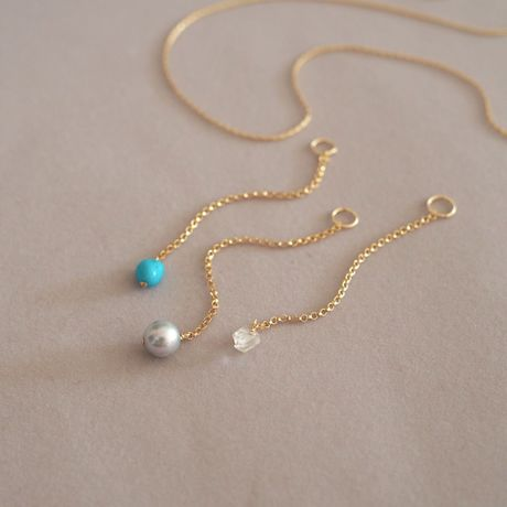【Necklace Set 】Special Summer set I-Line Charm