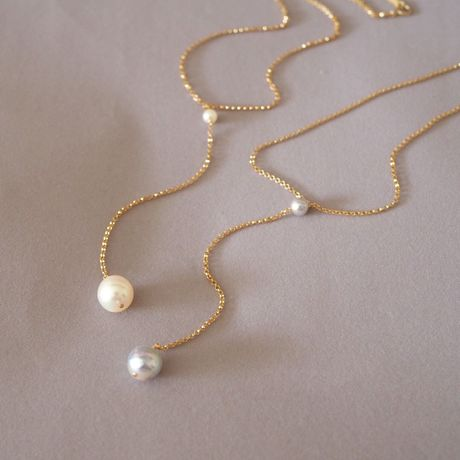 AKOYA Pearls Y-Necklace