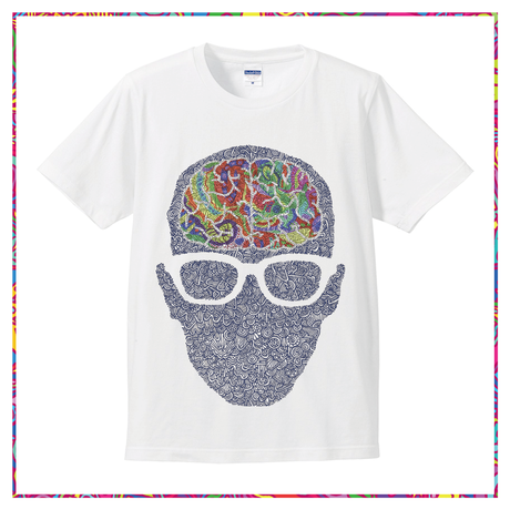 color  brain T-shirt