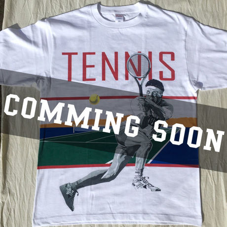 TENNIS MAN T-shirt [produced by J.O.D.M]