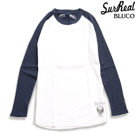 """【SURREAL】 """"Mitshhiro"""" Raglan L/S Thermal/4color"""