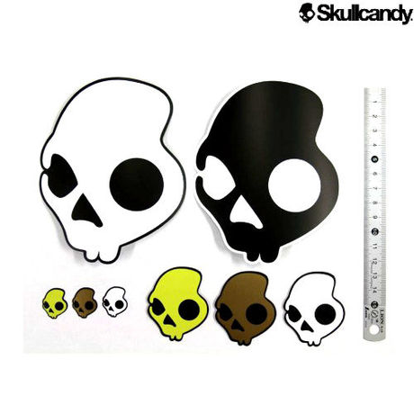 """【SKULL CANDY】 """"STICKER SET"""" STICKER SHEET"""