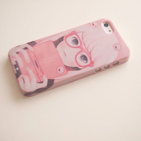 Gamegirl Girl iPhone5/5S/SEケース