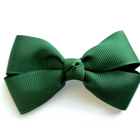 """3"""" Mos green hair bow"""