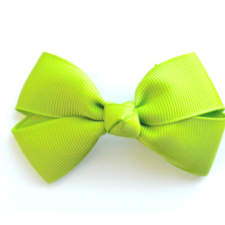 """3"""" Apple green hair bow"""