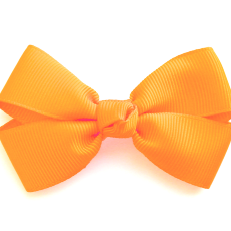 """3"""" Tangerine hair bow"""